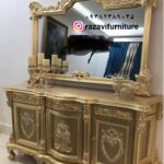 آینه کنسول سلطنتی مدل شهیاد