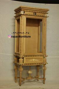 بوفه چوبی جدید مخصوص جهیزیه کد 022