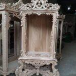 ویترین سلطنتی چوبی