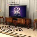 میز تلویزیون دیواری مدل آیلار