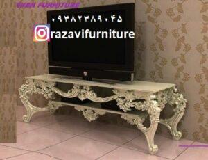 میز تلویزیون جدید شیک لاکچری مدل آیلار