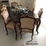 میز صندلی فرانسوی دوگل