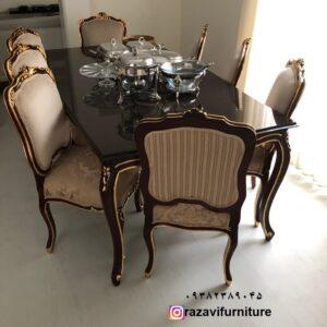 جدیدترین مدل میز صندلی فرانسوی دوگل