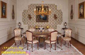 dinnig room table from iran tabriz