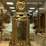 بوفه ساعتی چوبی سلطنتی- تولیدی رضوی تبریز