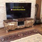 میز تلویزیون خمره ای مدل سیلور- تولیدی رضوی تبریز