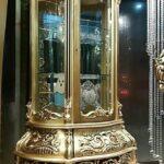 ویترین بوفه سلطنتی طلایی