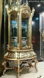 تولیدی ویترین بوفه سلطنتی طلایی