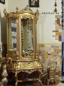 ویترین سلطنتی جدید طلایی کد 032