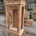 ویترین موزه ای چوبی کد ۵۰- تولیدی رضوی تبریز