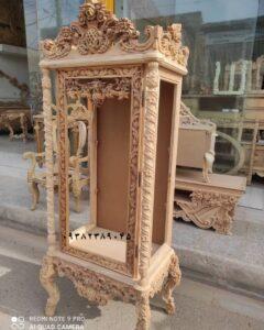 ویترین موزه ای چوبی