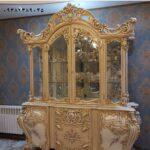 ویترین چوبی لاکچری سلطنتی چهاردرب