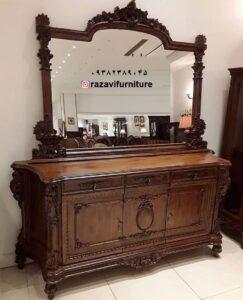 آینه میز کنسول مدرن شیک و ارزان