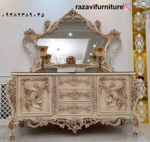 فروش میز کنسول چوبی جدید