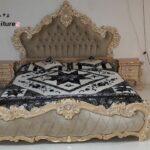 سرویس خواب سلطنتی چوبی مدل شاندیز- تولیدی رضوی تبریز
