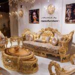 مبل فوق سلطنتی جدید مدل آتریس- تولیدی مبل رضوی تبریز