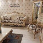 مبل استیل کلاسیک شیک مدل گرشا- تولیدی مبل رضوی تبریز