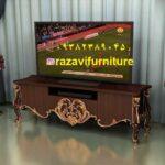 میز تلویزیون چوب راش مدل نژلا- تولیدی مبل رضوی تبریز