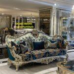 مبل استیل سلطنتی ایتالیایی مدل هکتور- تولیدی مبل رضوی تبریز
