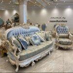 مبل استیل جدید اروپایی مدل اسپین- تولیدی مبل رضوی تبریز
