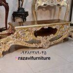 جدیدترین میز تلویزیون چوبی مدل هارمونی- تولیدی رضوی تبریز